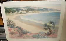 "RUTH BURR ""LAGUNA BRISAS"" LIMITED EDITION COLOR LITHOGRAPH"