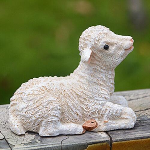 Figurine de mouton de résine de sculpture animale pour des statues de