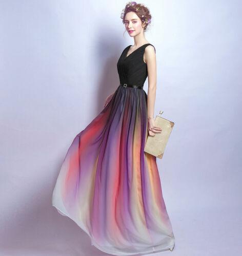 Edel Abendkleider Cocktailkleid Brautjungfernkleider Gradation Kleider 34-52