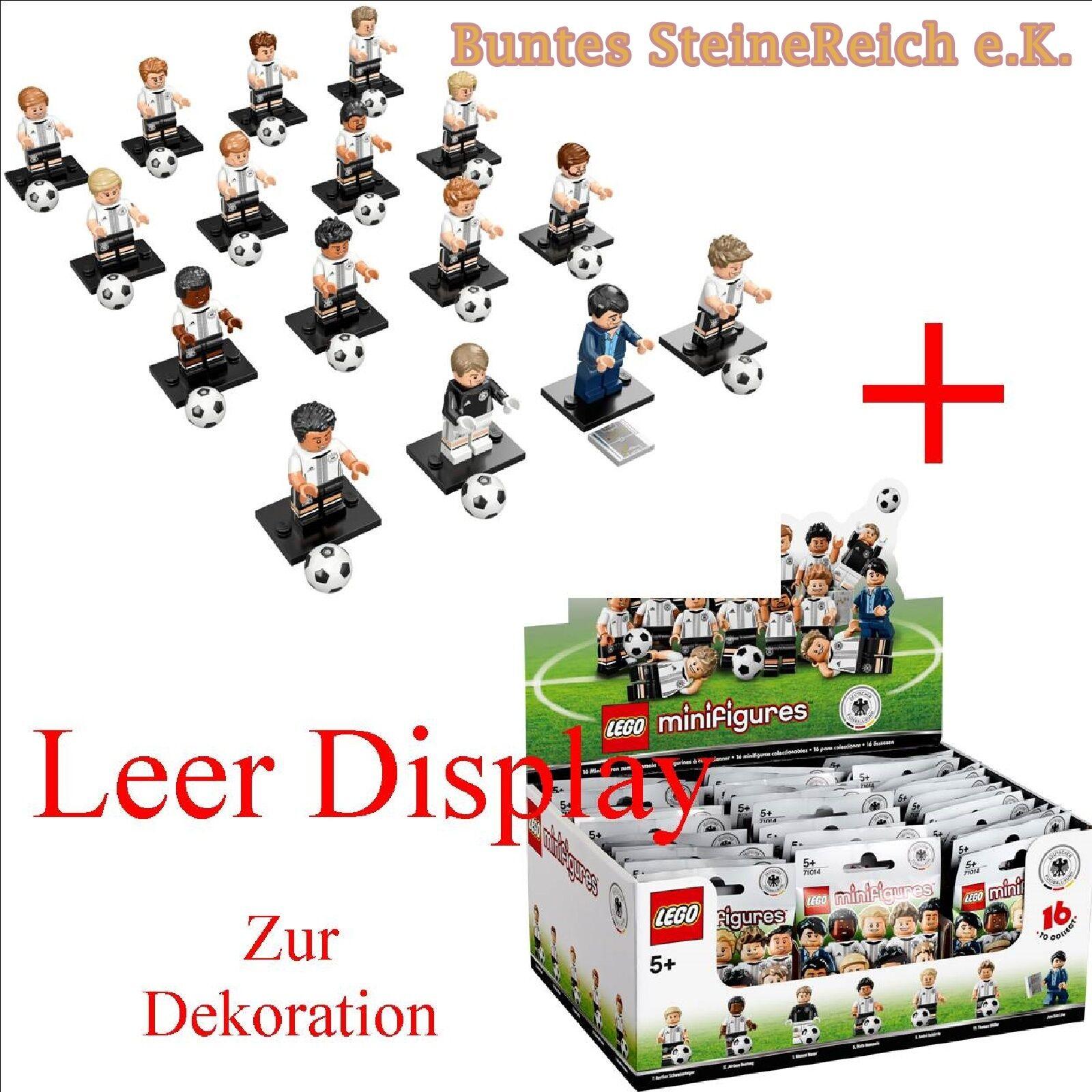 71014 LEGO ® DVB la squadra con tutti i 16 statuine incl. display VUOTO NUOVO