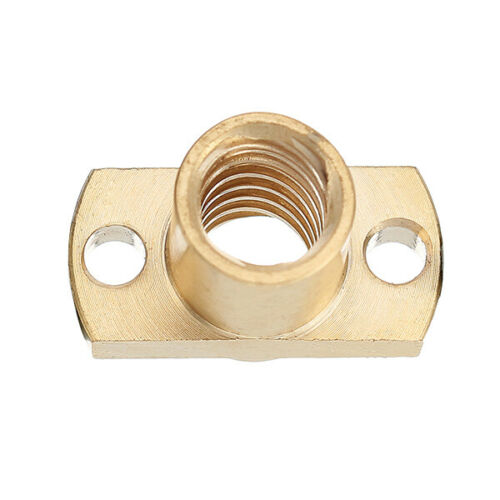 Brass T8x8mm Flange Lead Screw Nut for CNC Parts