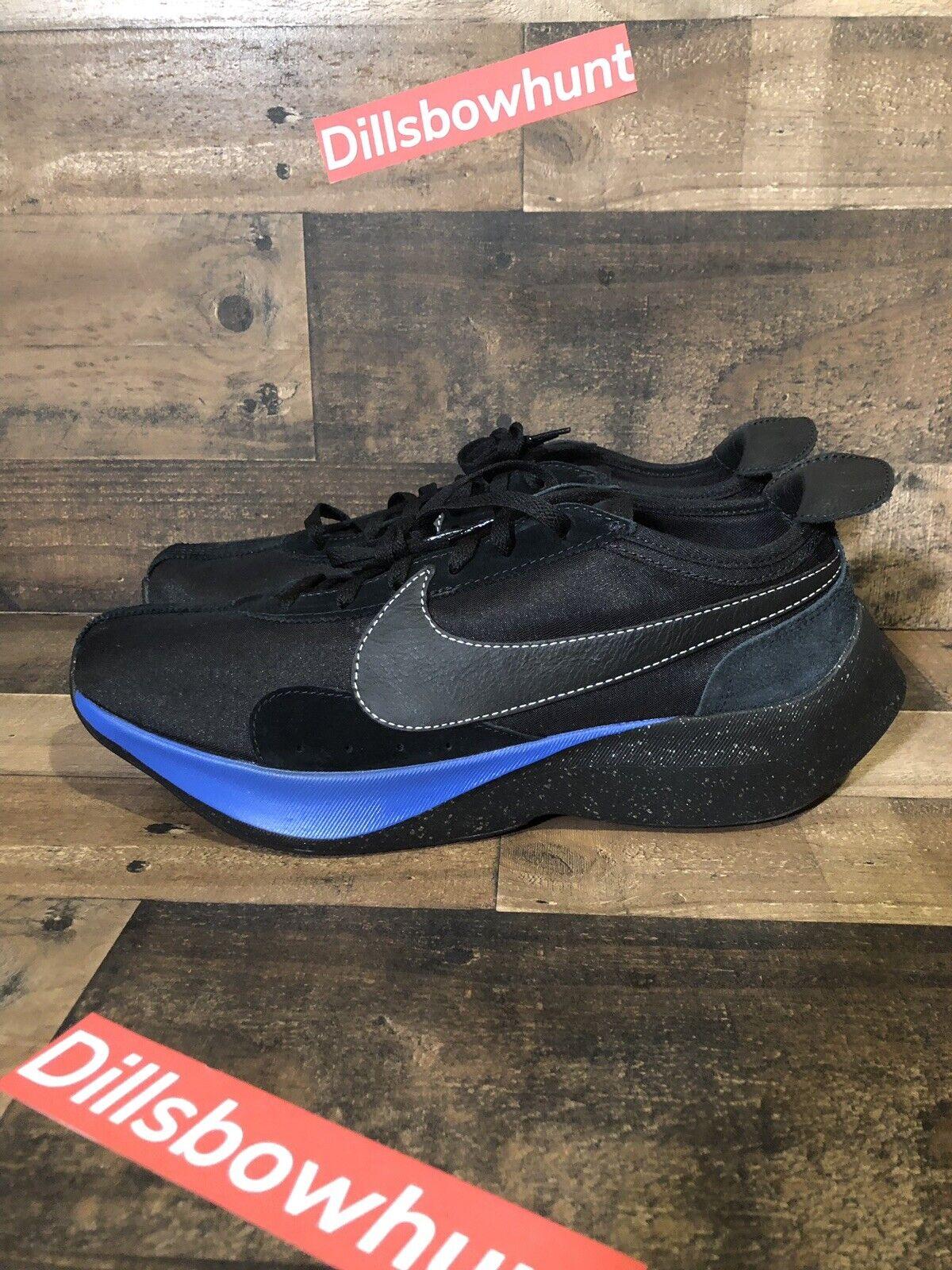purchase cheap 59376 d049e Nike Moon Moon Moon Racer QS bluee Black Men Running Casual shoes Sneakers  BV7779-001