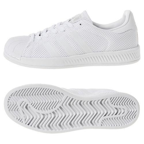 9125825d6dc6 adidas Superstar Bounce Triple White S82236 Men s Shoes Multi Size 12 for  sale online