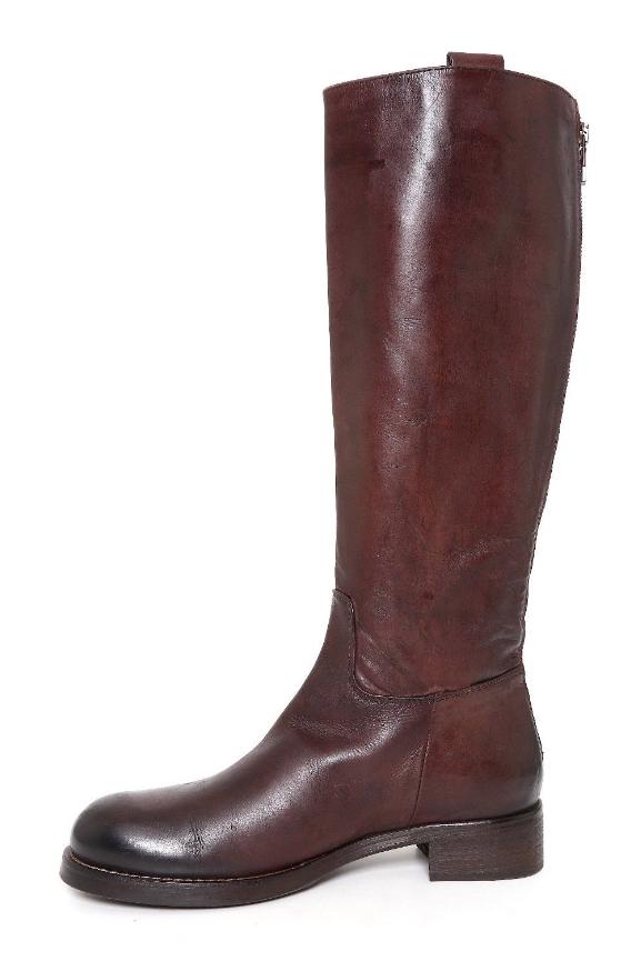 Alberto Alberto Alberto Fermani damen braun Leather Back Zipper Stiefel Sz 38.5 EUR 3410  7cf70e