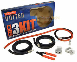 s l300 1 0 gauge awg big 3 kit cable upgrade wiring cadence united series