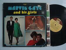 MARVIN GAYE & His Girls SOUL LP SHRINK TAMLA Orig DG 1/1 Matrix TAMMI TERRELL