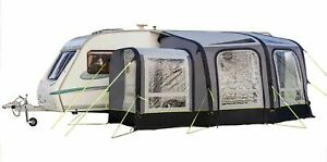 Inflatable Caravan Awning With Porch Extension - OLPRO View 300