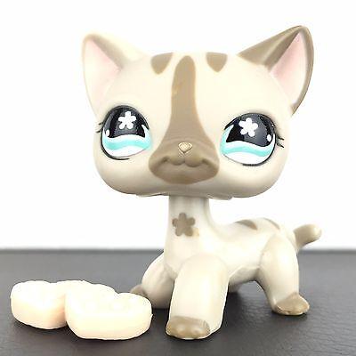Authentic Littlest Pet Shop 468 Cat Short Hair Kitty Kitten LPS