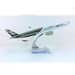 [wamami] 20cm Airbus A350 Metal Aircraft Model Aircraft Scales Desktop Toys