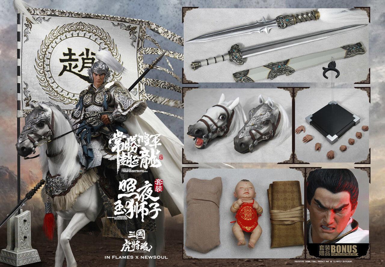 1 6 Inflames Toys IFT026 Soul Tiger Generals Zhao Yun Zilong & The Zhaoye Horse    Zarte