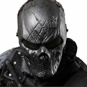Skull Airsoft Wire Masks Full Face Paintball Mask With Metal Mesh Eye Protection Ebay