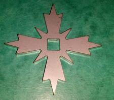 Ornamentale Lavatrice Per M8 Carrello Bullone Compasso Rosa Ninja A Stella