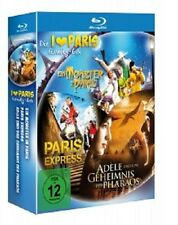 LUC BESSON PARIS BLU-RAY BOX 3 BLU-RAY NEU