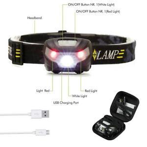 12000LM USB Rechargeable Sensor Head Torch Light LED Headlamp Headlight 2018 New