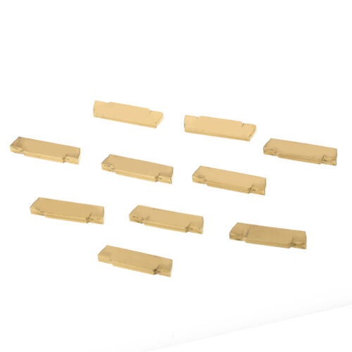 Box for MGEHR//MGIVR Grooving Cut-off Tool 10X MGMN200-G Carbide Inserts Blades