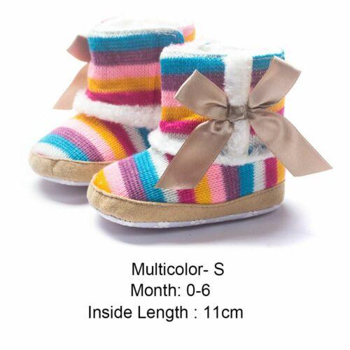 krippe baby warme stiefel winter wolle schuhe bowknot watte gepolsterten