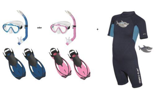 Mares Sharky Flex Schnorchelset mit ABC-Set und Shorty Gr. 27-36 ver. Farben