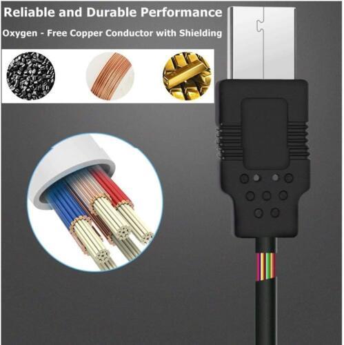 Ángulo Derecho Micro USB Cargador De Coche Plomo Para TomTom via 52SAT NAV 2m