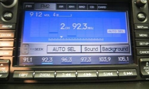 2007 2008 2009 Honda Civic Factory Xm Radio Cd Navigation Unit Gps System Oem
