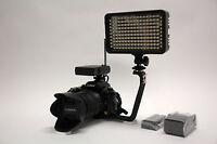 Pro Xb-12 Led Ag Hd Video Light F970 For Panasonic Ac30 Ac90 Ag-ac30 Ag-ac90 Cam