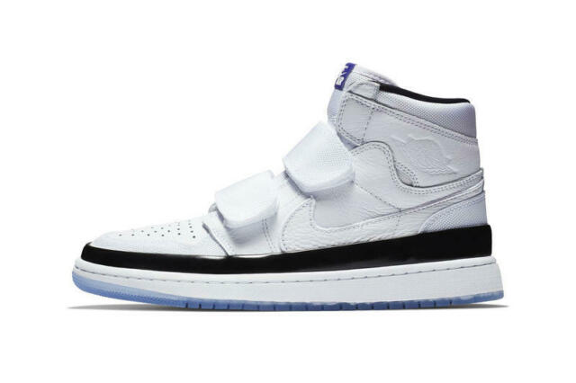newest collection 71849 02499 Nike Mens Air Jordan Retro 1 High Double Strap White/Black/Concord Shoes  Size 12