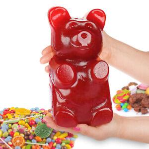 Roter-XXL-Gummibaer-2kg-Gummibaerchen-Riesen-Fruchtgummi-Baer-Cherry-Weingummi