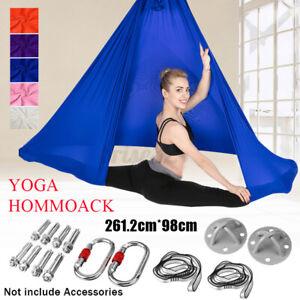 yoga swing hammock fitness exercises aerial inversion