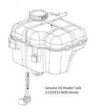 Vauxhall Astra J / Cascada Expansion Coolant Header Tank With Sensor 13370133