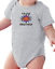 Infant creeper bodysuit One Piece t-shirt I/'m The Little Brother k-482