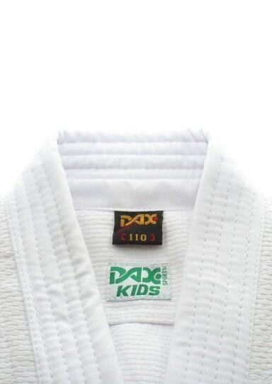 DAX JUDOGI KIDS, WEISS, in in in 170cm. 100% Baumwolle, ca. 450 g m². Judoanzug, Judo  | Stilvoll und lustig  | Deutsche Outlets  7a3dcc