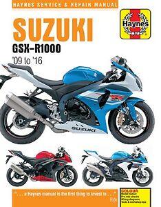 Haynes-Manual-6345-Suzuki-GSXR1000-K9-L6-09-16