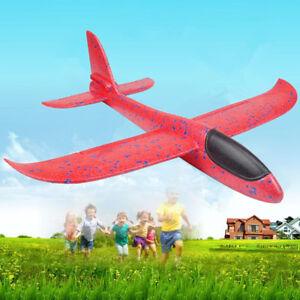 Espuma-Avion-Mano-de-lanzar-Vuelo-lanzamiento-volar-avioneta-Modelo-Juguetes-para-ninos