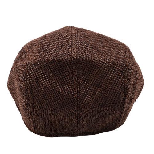 Béret Bonnet Pour Hommes Simple tempérament Caps accessoires vestimentaires Respirant Plat