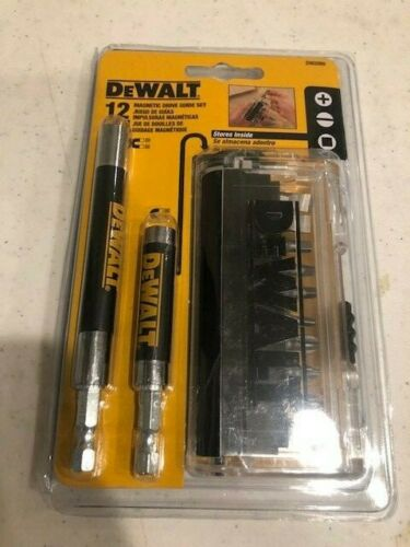 NEW DeWALT DW2089 12pc Magnetic Drive Guide Set