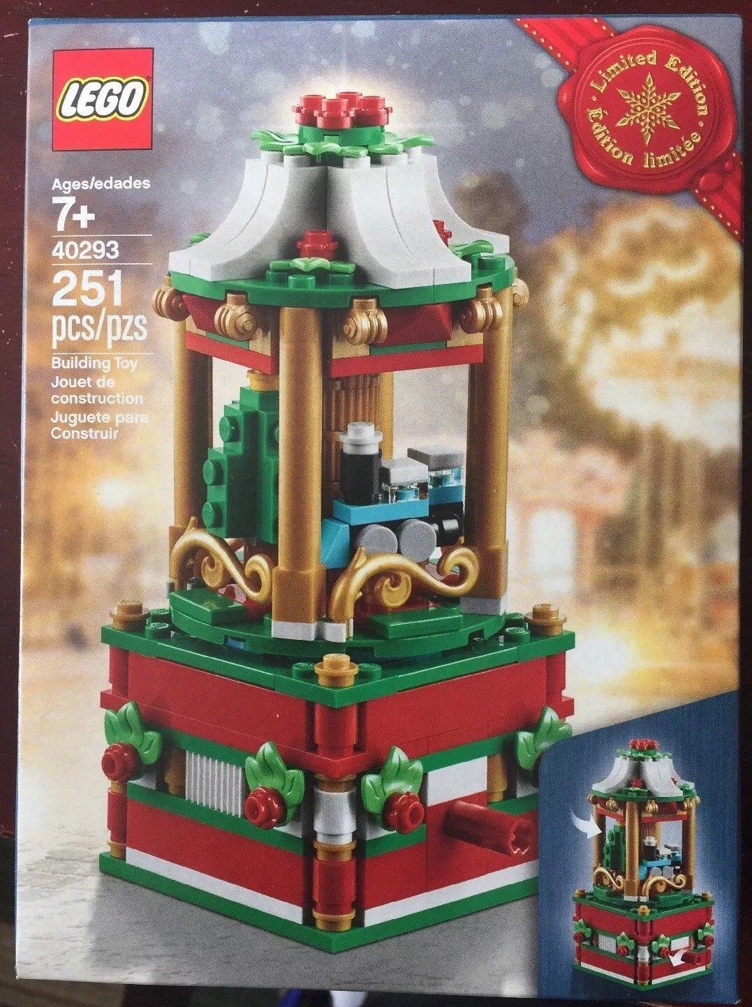 Lego 40293 Stagionale Natale Carosello 2018 - Edizione Limitata