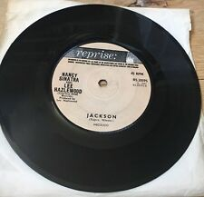 "NANCY SINATRA & LEE HAZLEWOOD - Jackson & You Only Live Twice - 7"" VINYL, 1967"