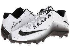 best sneakers 34989 e4c93  95 NIKE Alpha Pro 2 TD Football Cleats Mens 719925 100 BLACK WHITE Sz 13