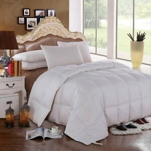 All-Year-Round-600-Fill-Power-Solid-White-Goose-Down-Comforter