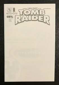 TOMB-RAIDER-PREVIEW-CONVENTION-VARIANT-BLANK-SKETCH-COVER-NEAR-MINT-VERY-RARE
