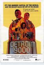 DETROIT 9000 Movie POSTER 27x40 Hari Rhodes Alex Rocco Sally Baker Richard