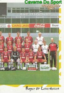 032 MANNSCHAFT RECHTS GERMANY BAYER 04 LEVERKUSEN STICKER FUSSBALL 1998 PANINI c4tNv3Ks-09172915-153590220