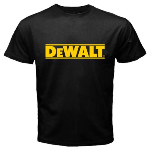 New Dewalt Power Tools Men/'s Black Men T-shirt Size S,M,L,XL,2XL