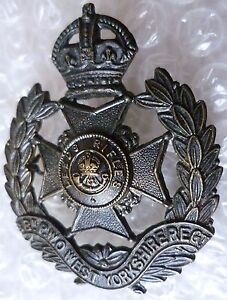 Badge 8th Bttn PWO West Yorkshire Regimen Cap Badge KC - <span itemprop=availableAtOrFrom>ilford, Essex, United Kingdom</span> - Returns accepted Most purchases from business sellers are protected by the Consumer Contract Regulations 2013 which give you the right to cancel the purchase within 14 days after th - ilford, Essex, United Kingdom