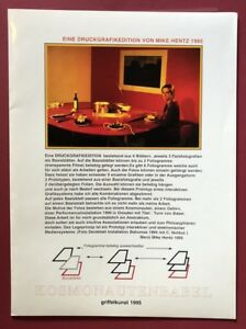 Mike Hentz, Kaleri Babel, 3 ingrandimenti, 1995, completamente, firmato a mano