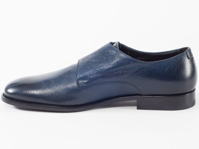 Zapatos De Cuero nuevo Baldinini Marino Azul Marino Baldinini EE. UU. 9 cde539