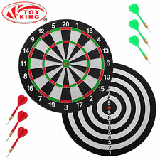 """MAGNETIC DART BOARD 16"""" 40.5CM WITH 6 MAGNETIC DARTS"""