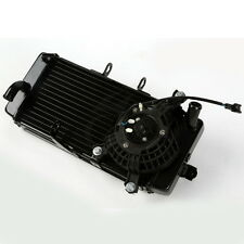 New Motorcycle Aluminum Radiator Cooler With Fan For SUZUKI GW250 2012-2014 2013