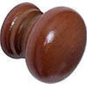 10 X Rond En Bois Acajou Meuble Tiroir Placard Cuisine Poignées Boutons De Porte-afficher Le Titre D'origine 47glajfj-07172525-536390052