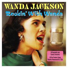 Wanda Jackson ROCKIN' WITH WANDA Best Of 50 Songs ROCKABILLY & COUNTRY New 2 CD