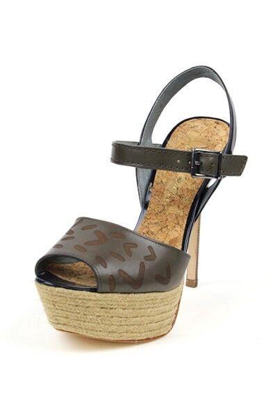 negozio outlet Sam Edelman Magdalena Sandal Sandal Sandal Heel Mineral blu Slingback Platform laser cut Navy  vendita outlet online